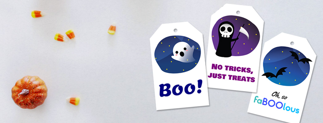 free halloween gift tags feature image