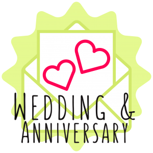 wedding & anniversay button icon